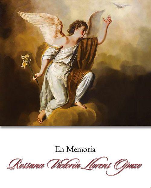 En Memoria: Rossana Victoria Llorens Opazo