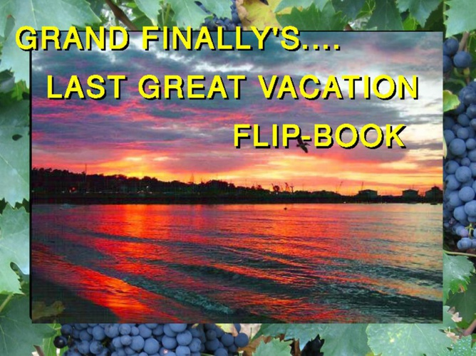 Bucket List - Last Great Vacation B4 U be Toast !_Manual Flip