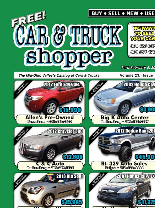 Car & Truck Shopper in Parkersburg, WV and Marietta, OH