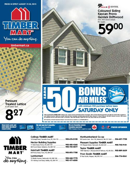 TIMBER MART Atlantic