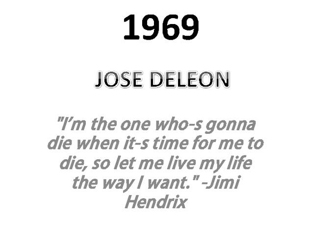 Copy of 1969 Jose Deleon