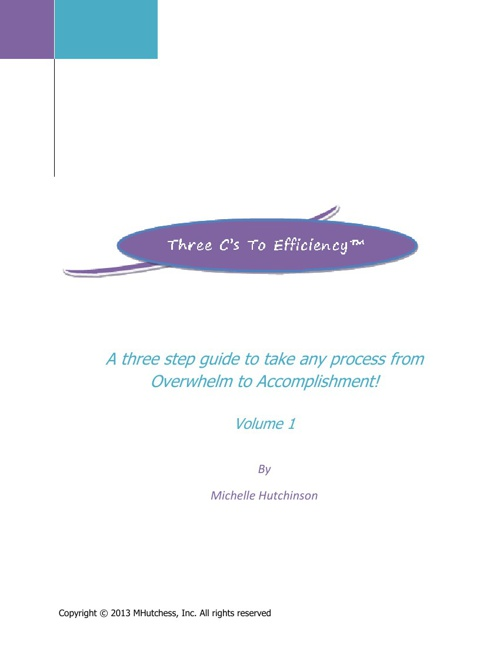The Three Cs to Efficiency ebook