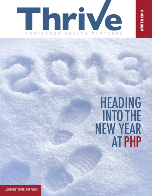 Preferred Health Partners Thrive Newsletter Winter Edition