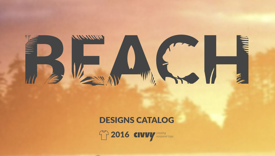 Beach wear Catalog