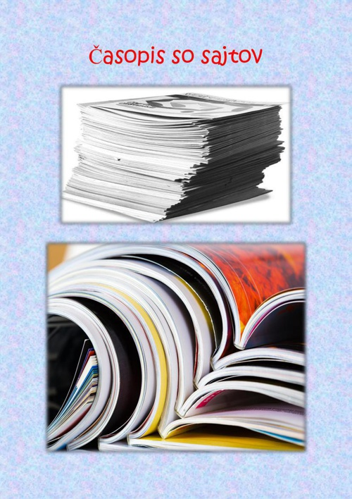 Časopis so sajtov