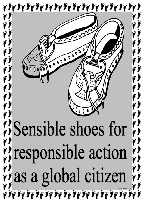 Action Shoes: Posters and Prompts