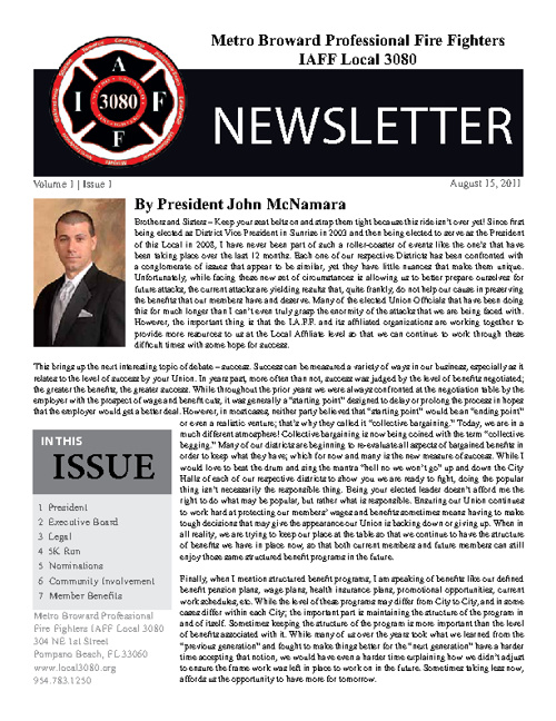 NewsletterV1I1