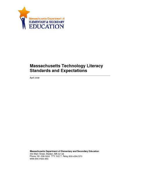 MA Tech Standards 2008