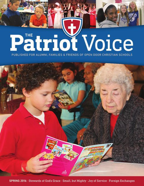 The Patriot Voice- Spring 2016