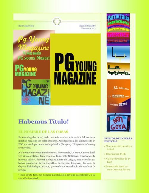 Publicación 12  2º TRIMESTRE