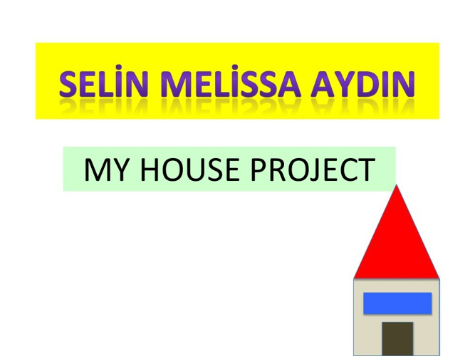 MY HOUSE PROJECY