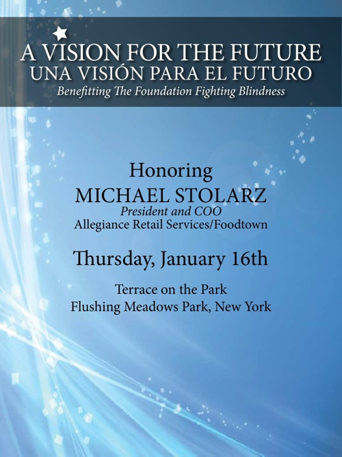 2014 A Vision for the Future Visionary Award Dinner