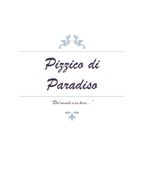 Pizzico di paradiso