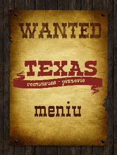 Pizza Texas - meniu