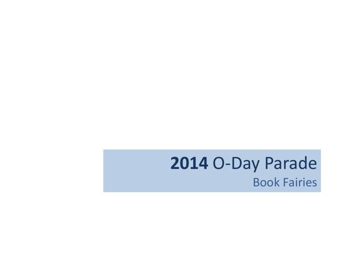 2014 Book Fairies