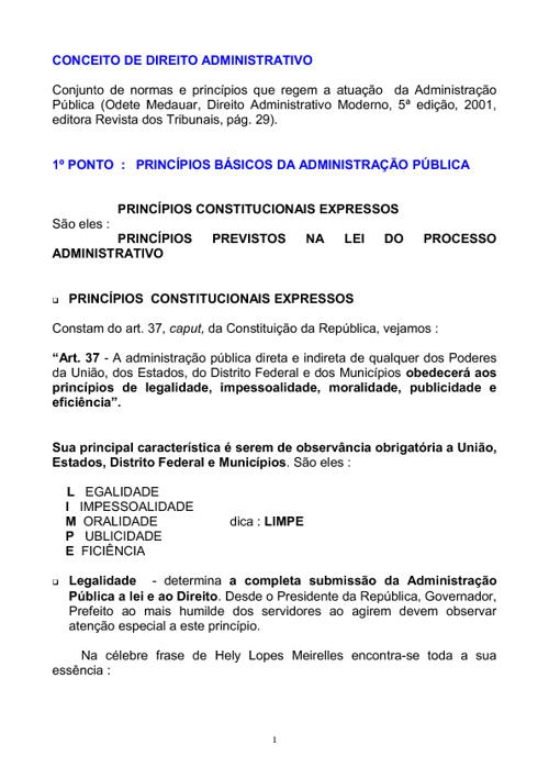 Direito Administrativo_resumo para concursos