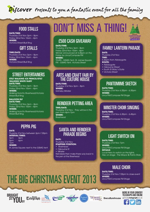 Discover Christmas in Grimsby 2013