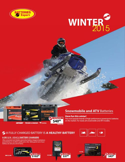 Batteries Expert Winter Flyer