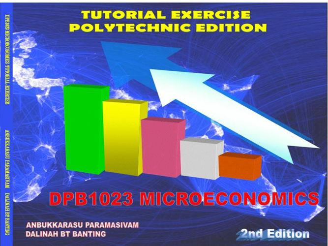 DPB1023 MICROECONOMICS - TUTORIAL EXERCISE