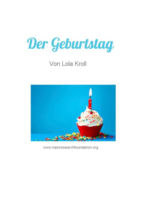 Copy of Der Geburtstag