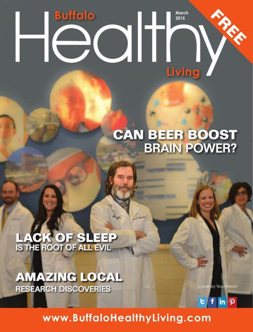 March 2015 Buffalo Healthy Living Magazine