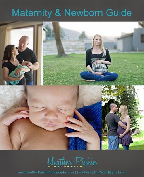 Maternity/Newborn Session Guide