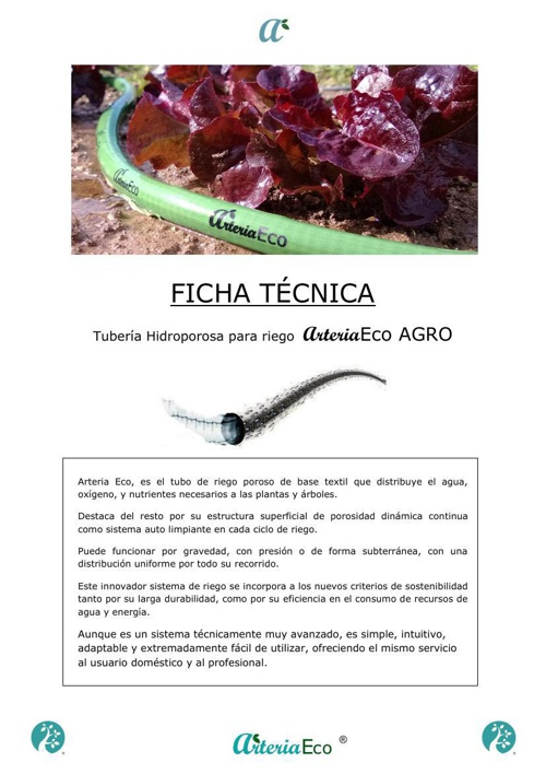 Copy of FICHA TÉCNICA ARTERIA ECO AGRO