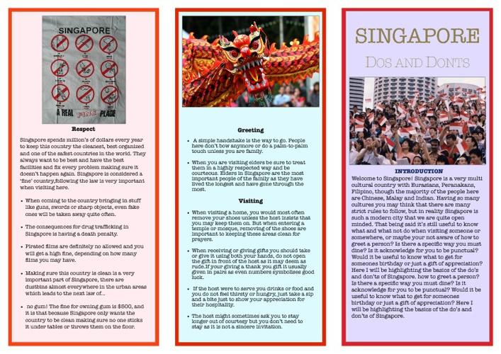 Grade 8 Singapore Brochure
