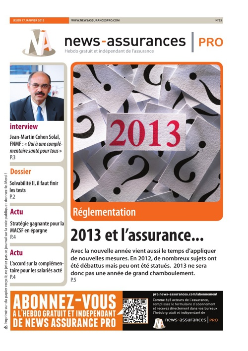 News Assurances Pro - Edition 55