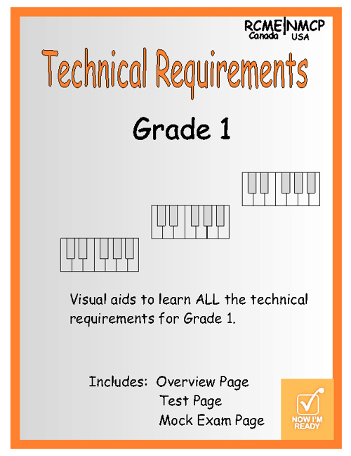 Technical Requirements Grade 1