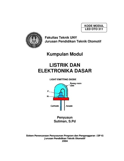 Modul Listrik dan Elektronika Dasar