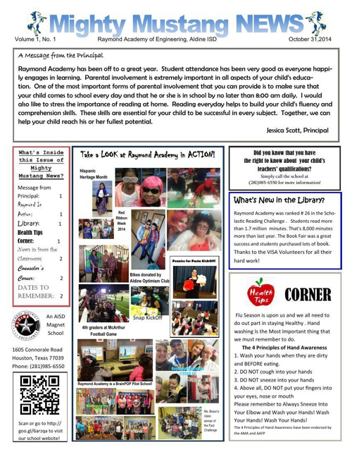 Raymond Fall Newsletter Final (span and eng)