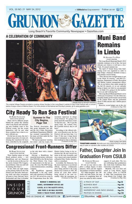 Grunion Gazette | May 24, 2012
