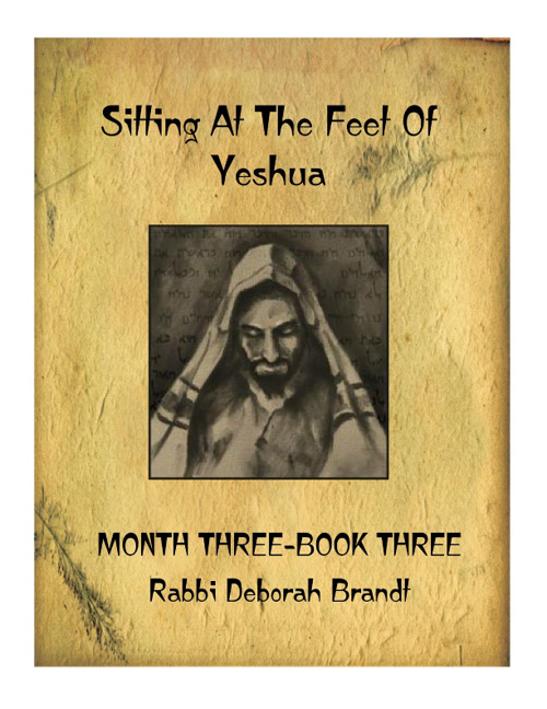 Sitting At The Feet Of Yeshua Month Three Book 3