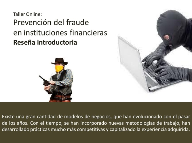 Prevencion del Fraude en Instituciones Financieras