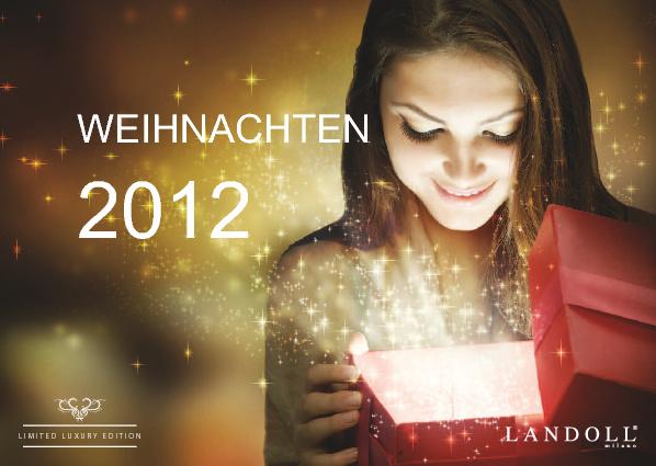 LANDOLL milano Weihnachten 2012