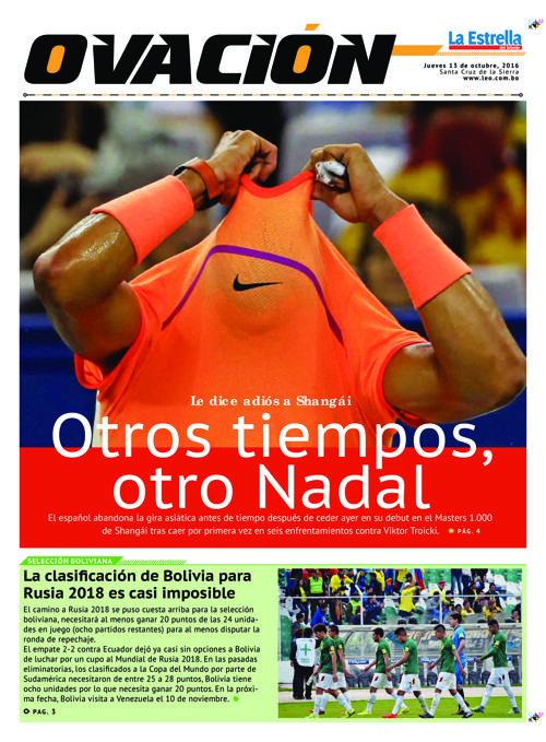 Deportes 13-10-2016