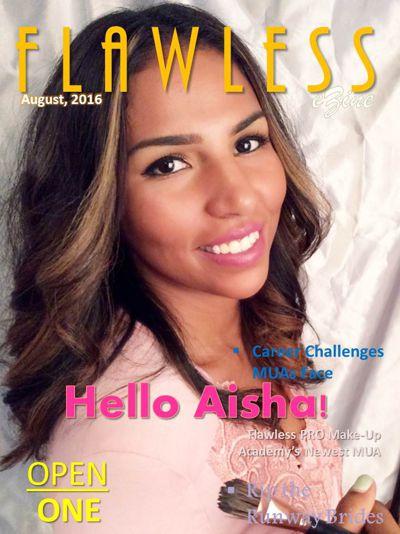 Flawless e-Zine ft. Aisha Leon-Gideon, PRO MUA