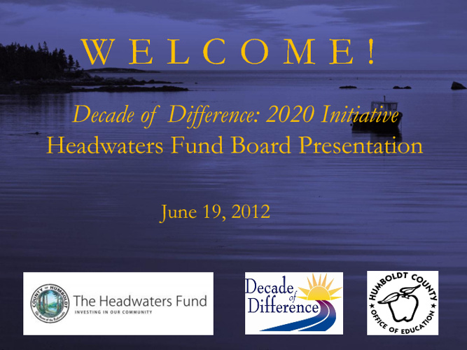 Decade of Difference Annual Update - HWFB
