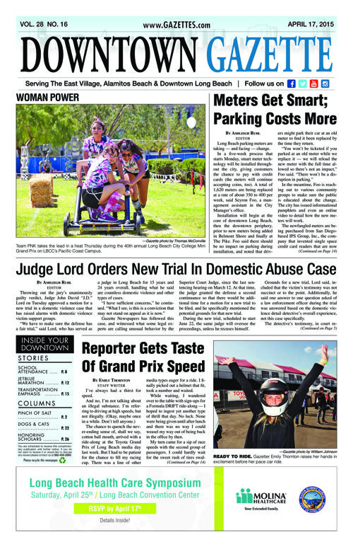 Downtown Gazette  |  April 17, 2015