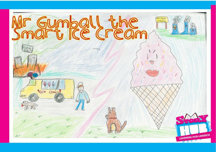 Mr. Gumball The Smart Ice Cream