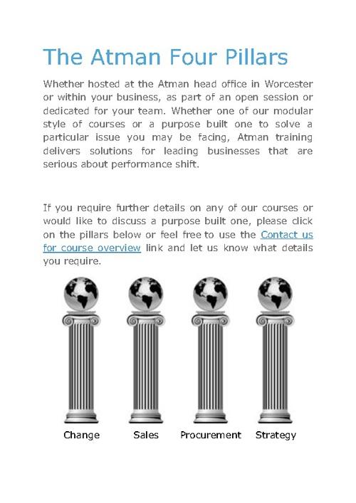 Atman - Four Pillars