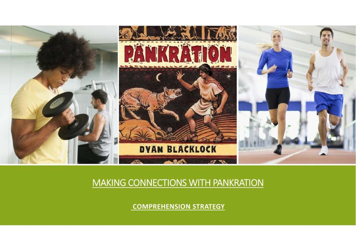 Making Connections With Pankration
