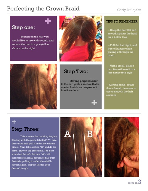 Perfecting the Crown Braid