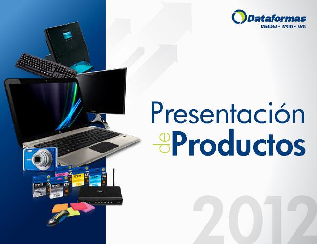 Presentación de Productos 2012