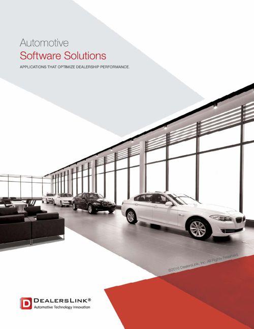 2016 DealersLink® Brochure