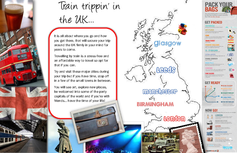 Train Trippin' around the UK - Student Travel Essentials