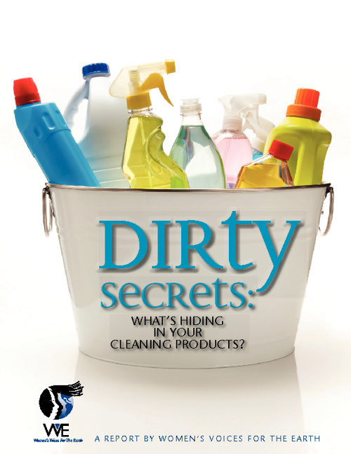 Chemicals in cleaners