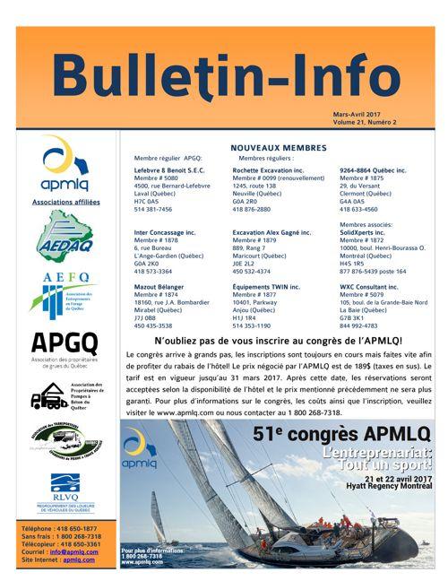 Bulletin-Info Mars-Avril 2017