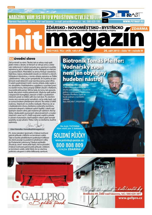 Hit magazín č.19 2013